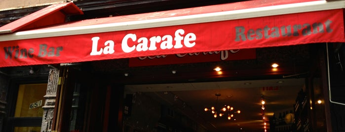 La Carafe is one of Working Wifi Spots in NYC.