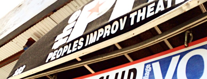 The Peoples Improv Theater is one of Christineさんの保存済みスポット.
