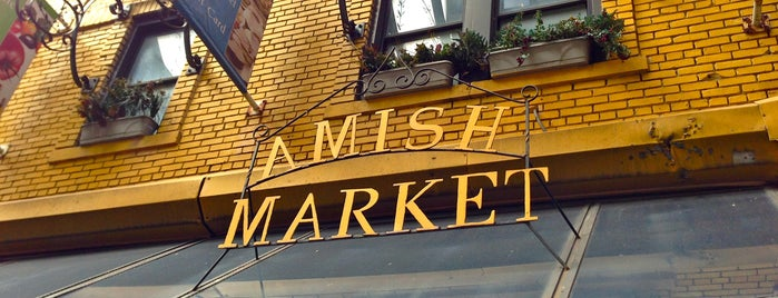 The Amish Market is one of Hit List.