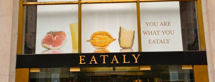 Eataly Flatiron is one of The Best Pasta in New York.