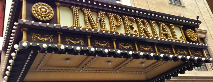 Imperial Theatre is one of Adam Khoo - Theaters - New York, NY.