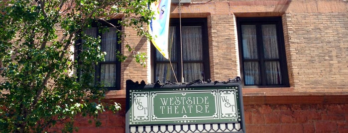 The Westside Theater is one of The Gray Line New York Eat and Play Card.