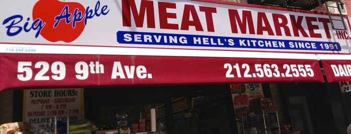 Big Apple Meat Market is one of Posti salvati di Rob.