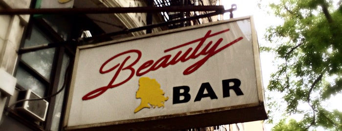 Beauty Bar is one of The City Guide.
