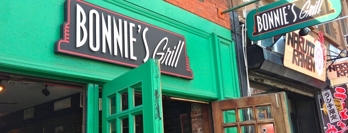 Bonnie's Grill is one of NY.