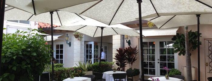 Cafe Via Flora is one of Palm beach island spots.