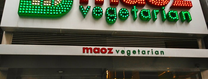 Maoz Falafel & Grill is one of Vegan in NYC.