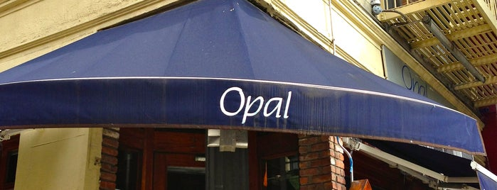 Opal Bar & Restaurant is one of YY favorite.