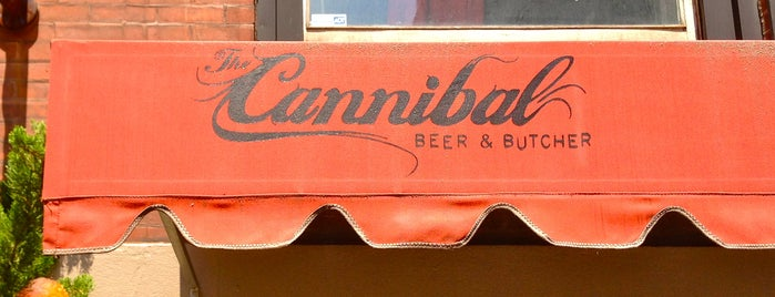 The Cannibal Beer & Butcher is one of The Best Biergartens in New York.