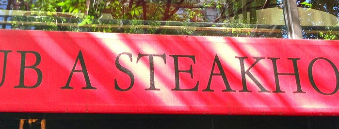 Club A Steakhouse is one of The Best of Midtown East.