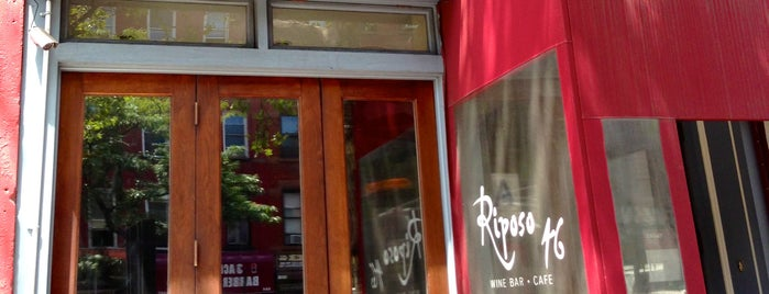 Riposo 46 is one of NYC Wine Bars.
