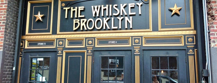 The Whiskey Brooklyn is one of Places to drink.