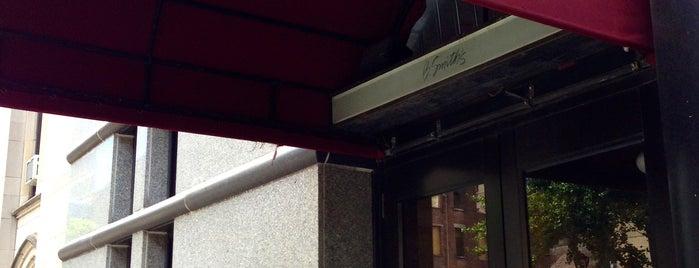 B. Smith's Restaurant Row is one of Manhattan.