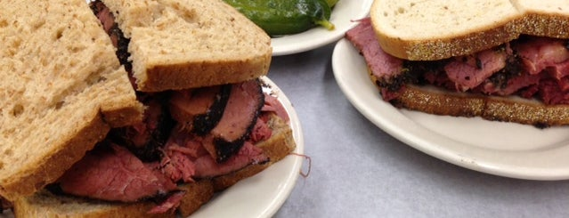Katz's Delicatessen is one of The Best Late Night Eats in New York.