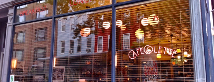 Cafe Colette is one of EatNY.