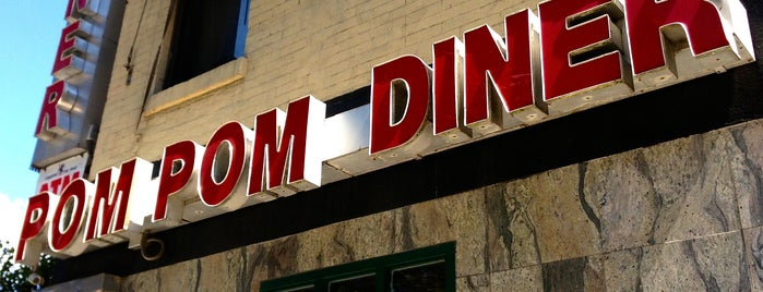 Pom Pom Diner is one of Locais curtidos por Brad.