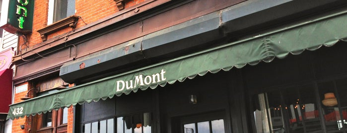 DuMont is one of Restaurants.