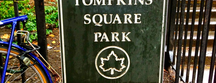 Tompkins Square Park is one of The Best of the East Village.