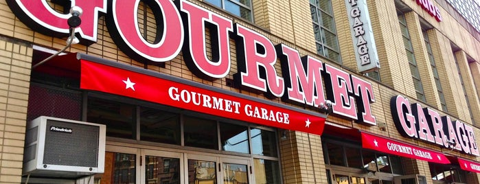 Gourmet Garage is one of West Village To-Do.