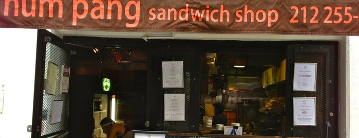 Num Pang Sandwich Shop is one of Union Square.