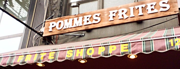 Pommes Frites is one of Lower Manhattan.