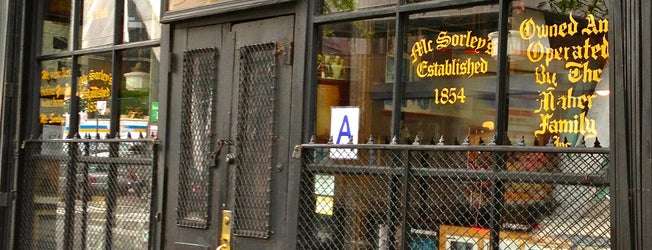 McSorley's Old Ale House is one of The Best Irish Spots in New York.