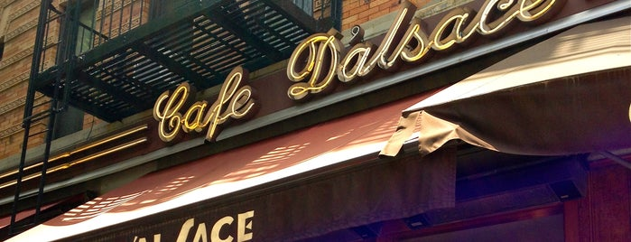 Cafe D'Alsace is one of nyc.