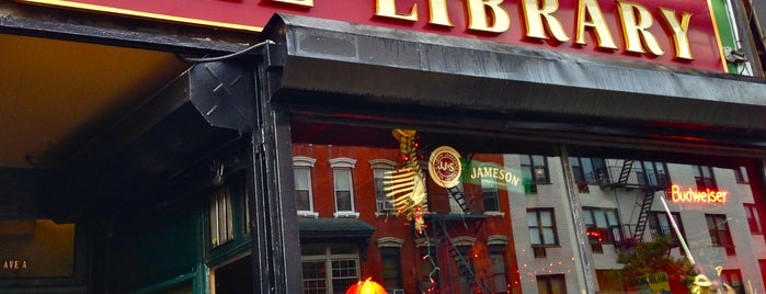 The Library is one of Manhattan Bars to Check Out.