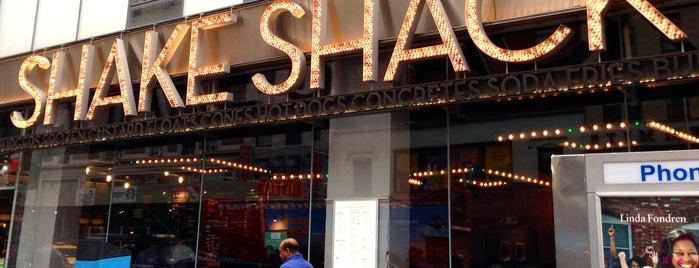 Shake Shack is one of New York City.