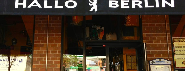 Hallo Berlin is one of The Best Biergartens in New York.