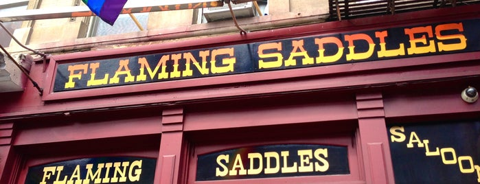 Flaming Saddles Saloon is one of Gay Bars in NYC.