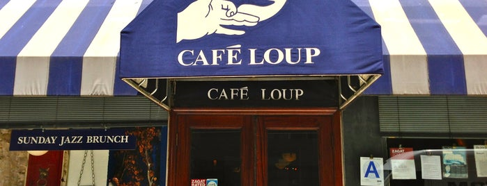Café Loup is one of NY Normcore Dining.
