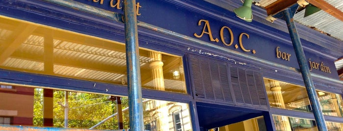 A.O.C. Bistro is one of The Best French Spots in New York.