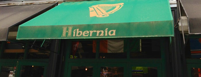 Hibernia Bar is one of Hell's Kitch Essentials.
