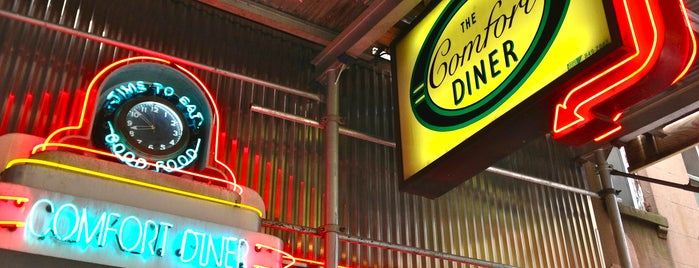 Comfort Diner is one of Ланч в НЙ.