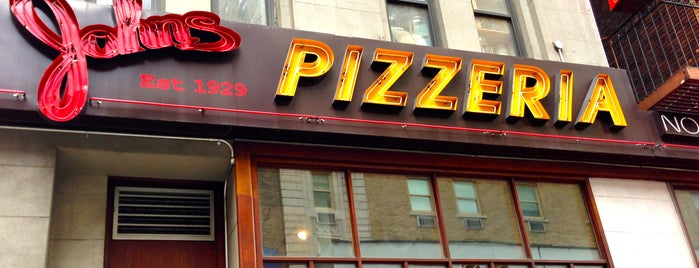 John's Pizzeria is one of NEW YORK CITY : Manhattan in 10 days! #NYC enjoy.