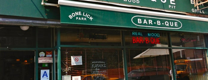 Bone Lick Park is one of West Village/Soho/Tribeca.