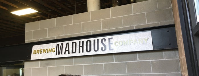 Madhouse Brewing Company is one of Faithe 님이 저장한 장소.