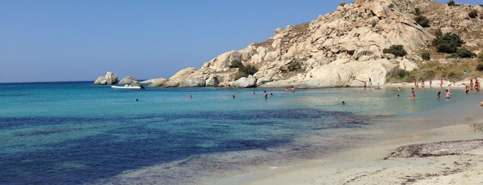 Mikri Vigla Beach is one of Greece.