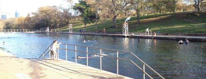 Barton Springs Pool is one of Austin, TX.