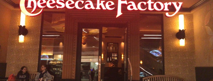 The Cheesecake Factory is one of Dessert Healthy.