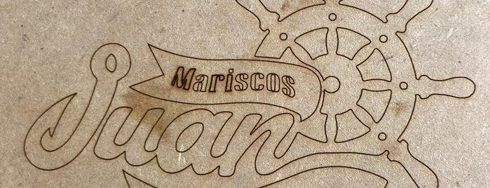 Mariscos Juan is one of DF.