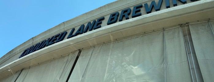 Crooked Lane Brewing Co. is one of Auburn/Rocklin.