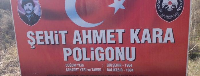 Atış poligonu is one of Aytaçさんのお気に入りスポット.
