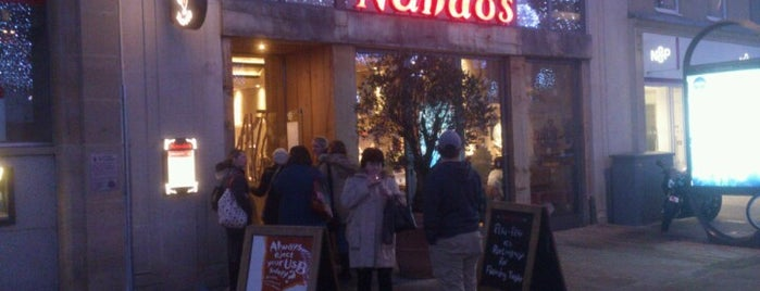 Nando's is one of Locais curtidos por Carl.