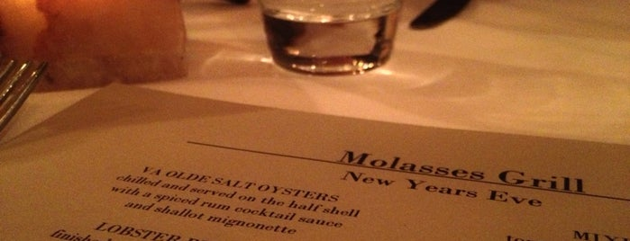 Molasses Grill is one of 30 Places to Eat in Virginia Before You Die.
