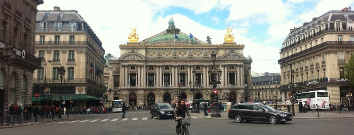 Place de l'Opéra is one of Jas' favorite urban sites.