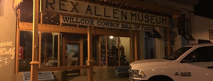 Rex Allen Museum is one of Places I Recommend to Visit.