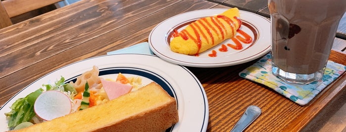 CAFE&DELI OCCHIALI is one of Orte, die Masahiro gefallen.