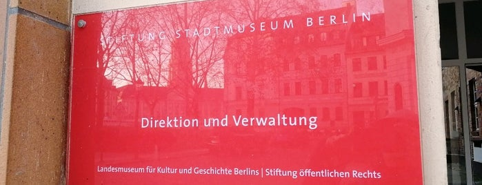 Stiftung Stadtmuseum Berlin is one of Stevenson's Favorite Art Museums.